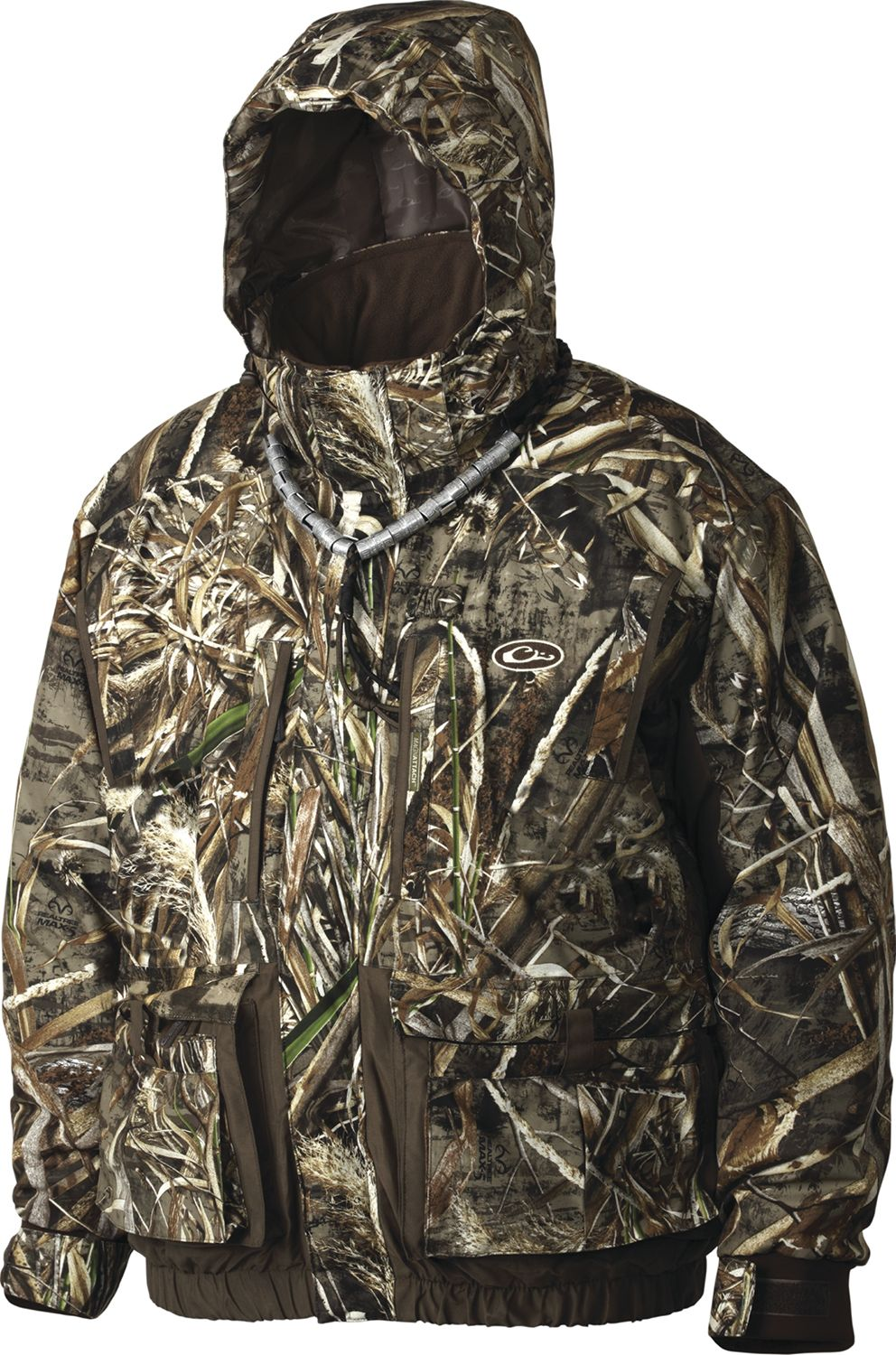 Drake Waterfowl Men's LST Eqwader 3-in-1 Wader Jacket 2.0, Size: XXL, Brown thumbnail