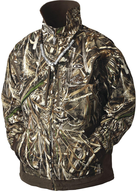6427fa1c3a749 Drake Waterfowl Men's MST Waterfowl Fleece-Lined Full Zip 2.0 Hunting Jacket  1