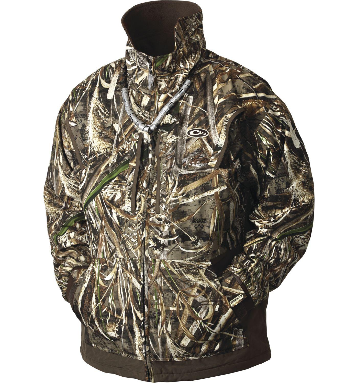Drake Waterfowl Men's MST Waterfowl Fleece Lined Full Zip Jacket 2.0