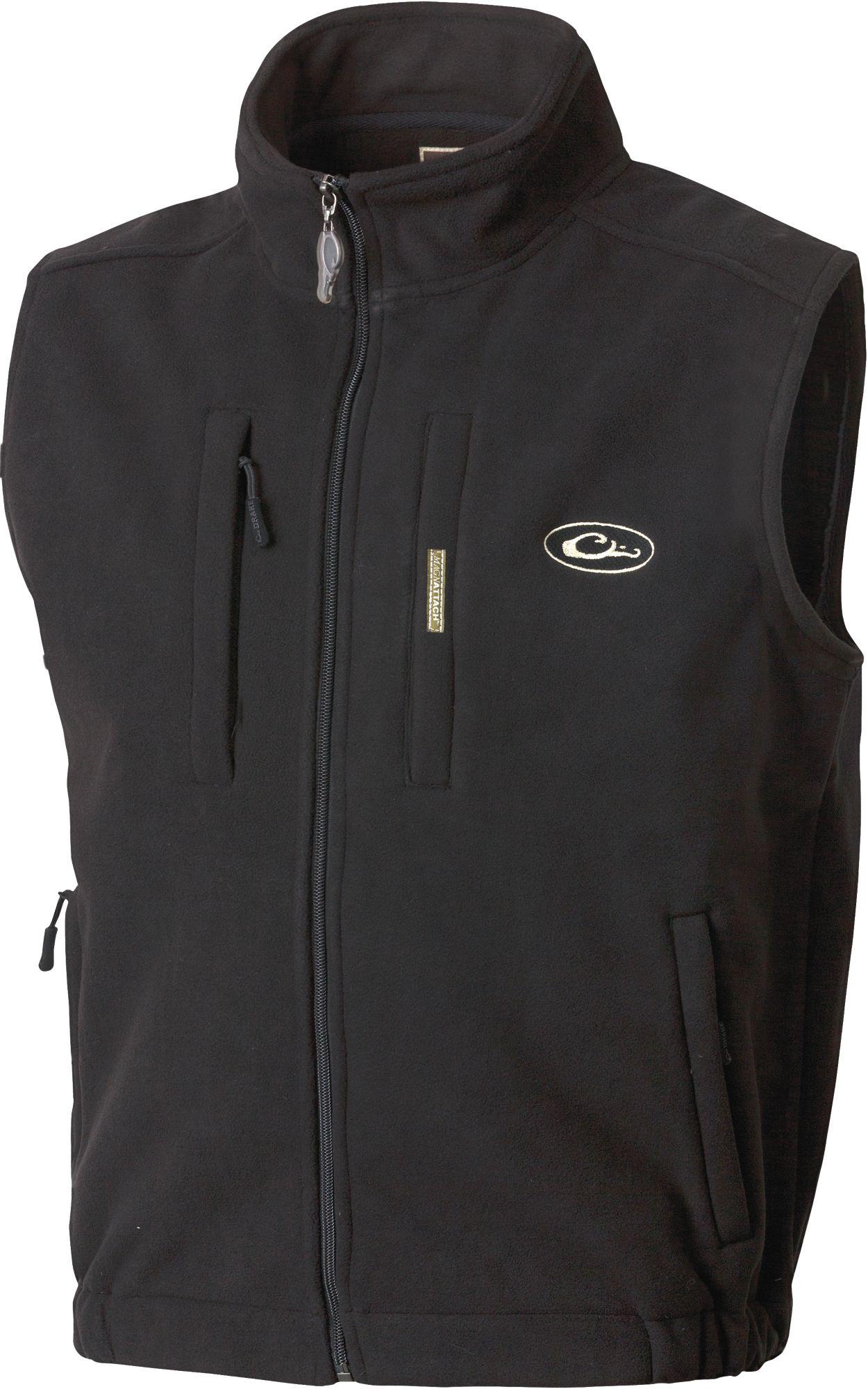 Drake Waterfowl Men's MST Windproof Layering Vest, Size: XXL, Black thumbnail
