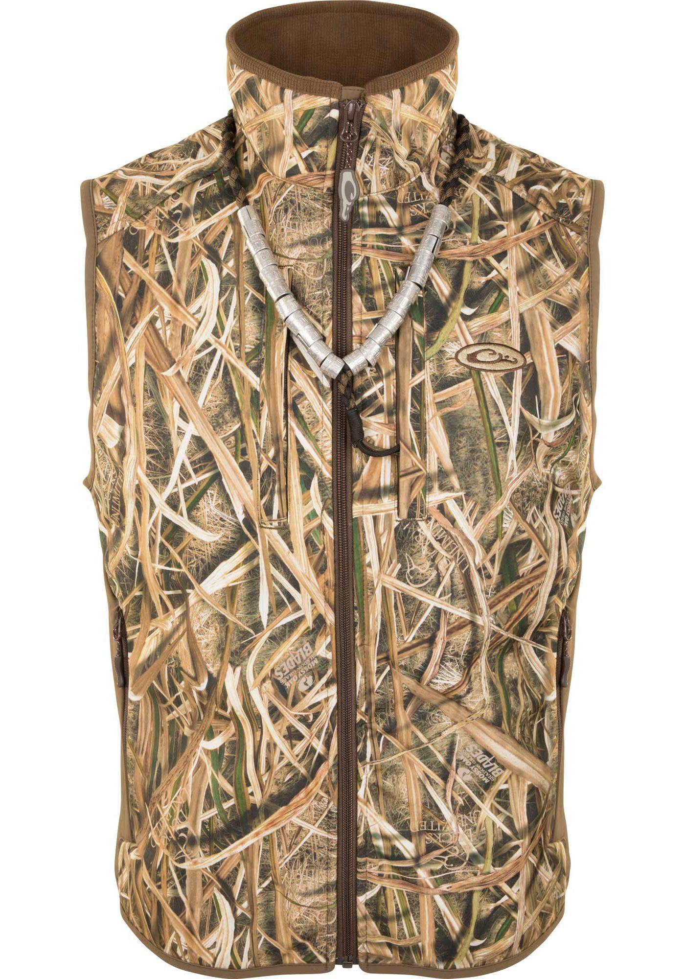 Drake Waterfowl Men's Windproof Layering Vest