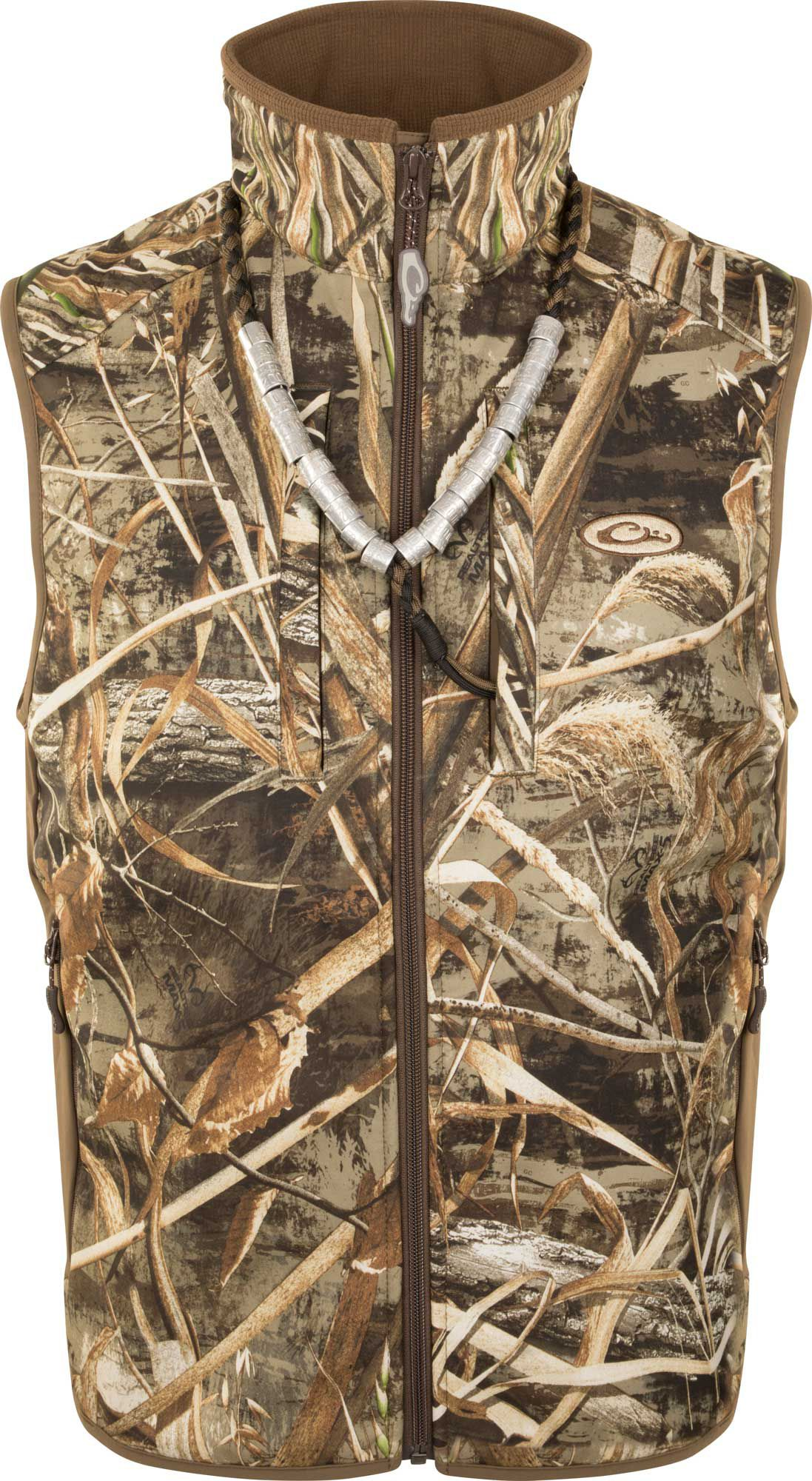 Drake Waterfowl Men's Windproof Layering Vest, Small