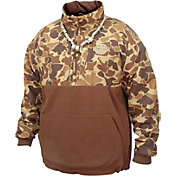 31cc30a4281 Product Image · Drake Waterfowl Men s MST Eqwader Quarter Zip Jacket ·  Brown Camo · Mossy Oak Blades ...