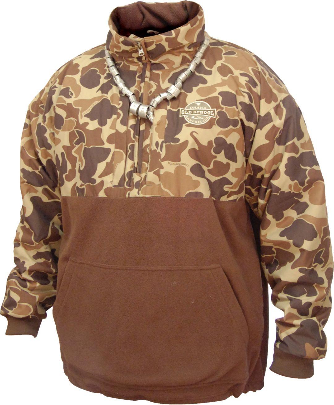 9edde572e4c44 Drake Waterfowl Men's MST Eqwader Quarter Zip Hunting Jacket | Field ...
