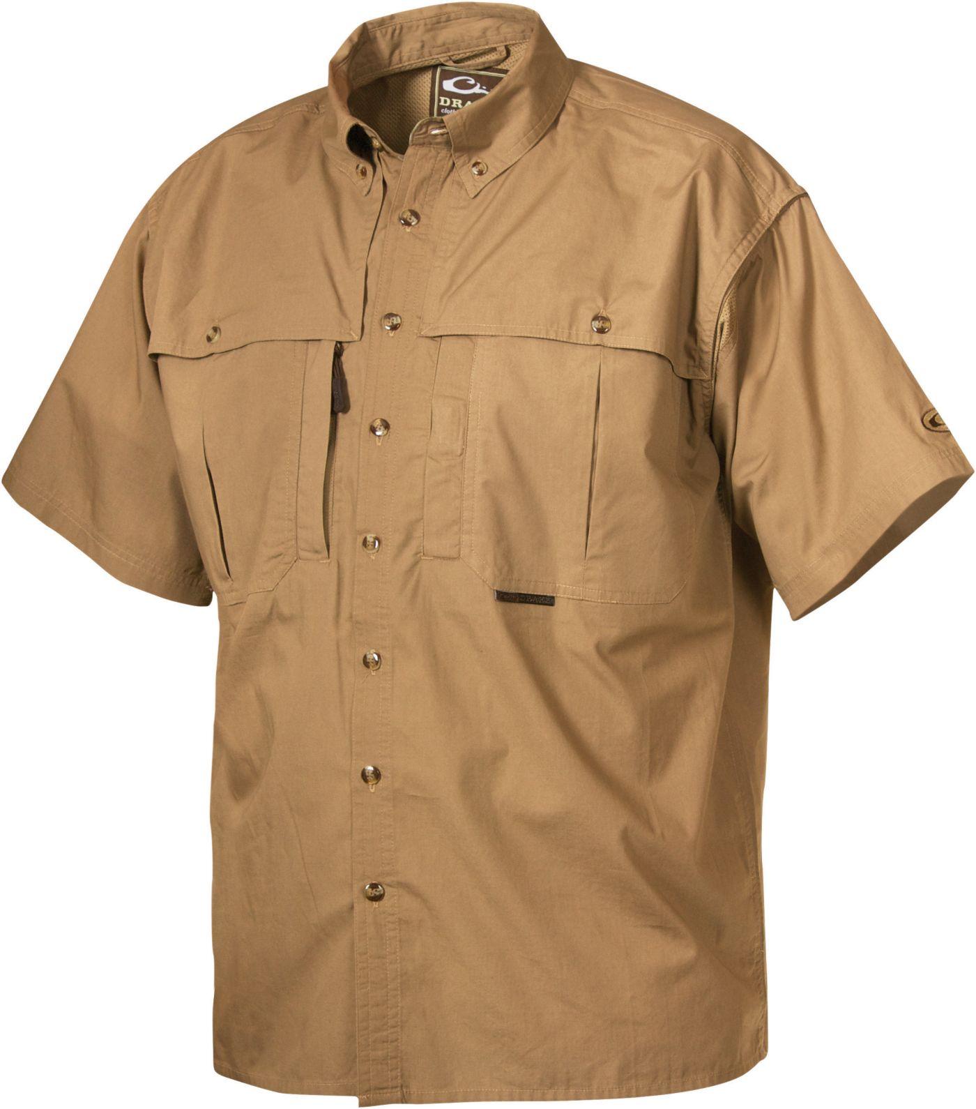 Drake Waterfowl Men's Wingshooter Button Up Shirt