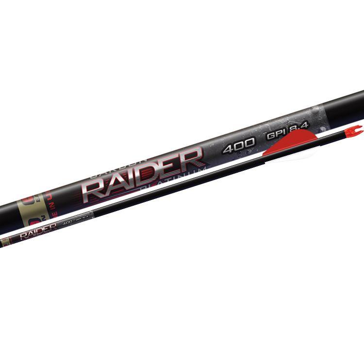 Easton Archery Carbon Raider Platinum Arrows – 6 Pack