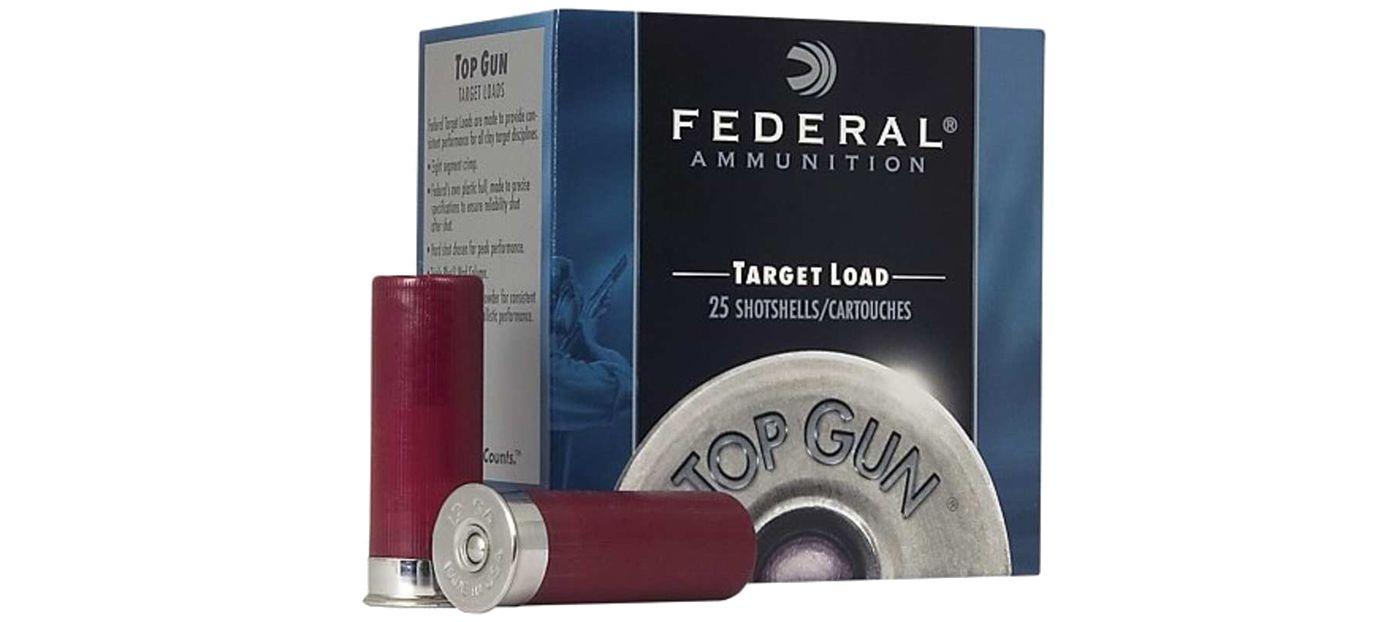 Federal Top Gun Target Shotgun Ammo – 25 Shells
