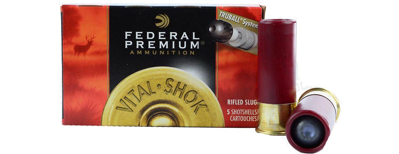 Federal TruBall Shotgun Ammo – 5 Slugs
