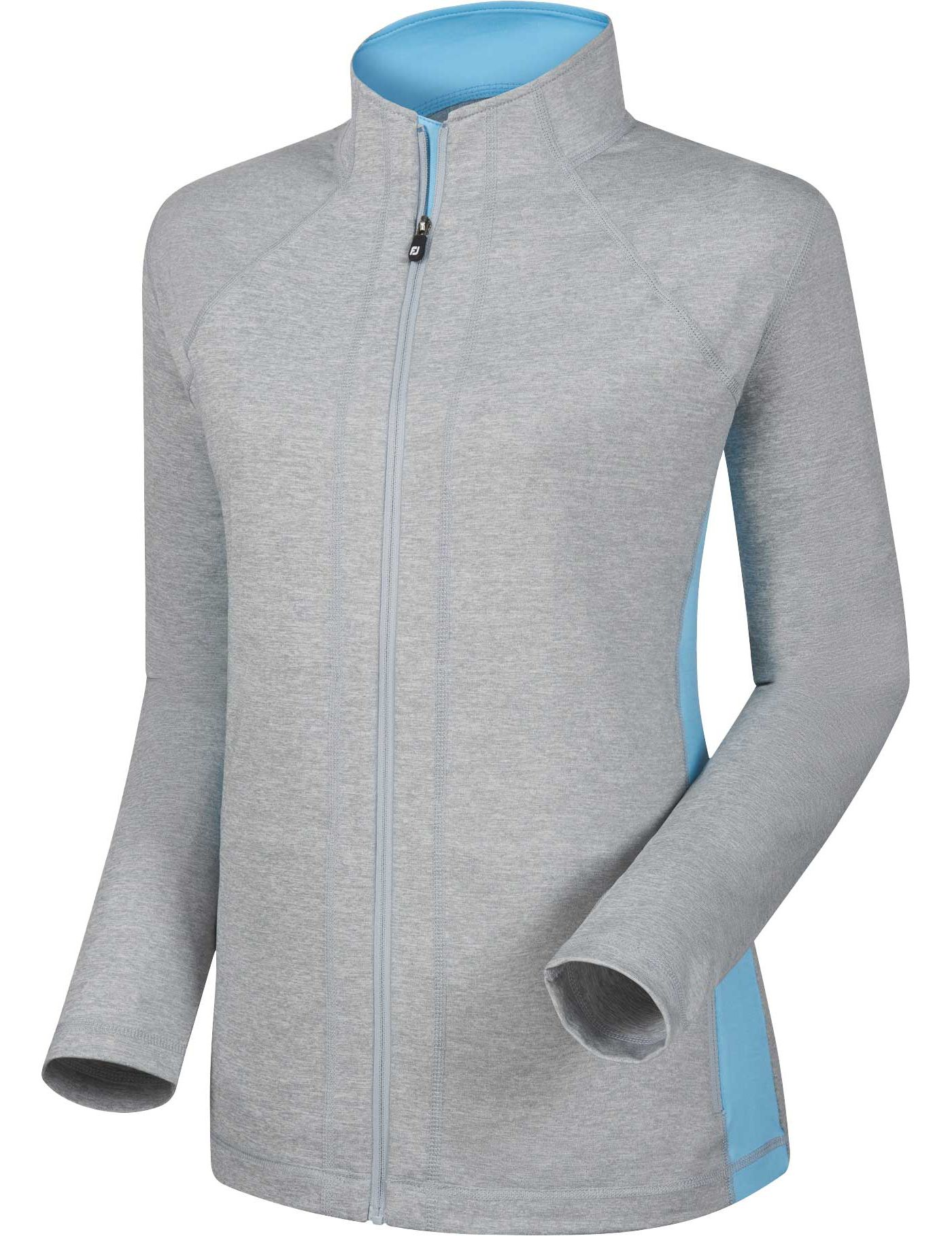 FootJoy Women's Full-Zip Performance Mid Layer Golf Jacket