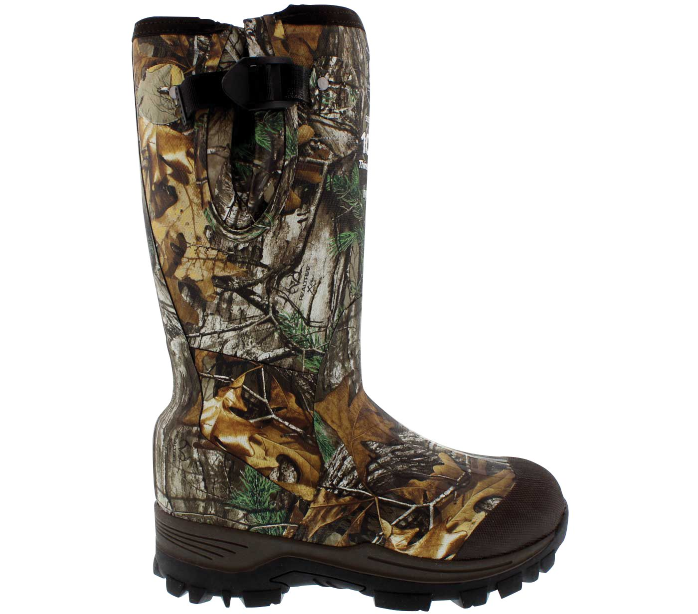 Field & Stream Women's Swamptracker 1000g Rubber Hunting Boots
