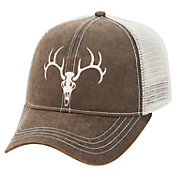 Field & Stream Men's Waxed Skull Mesh Hat