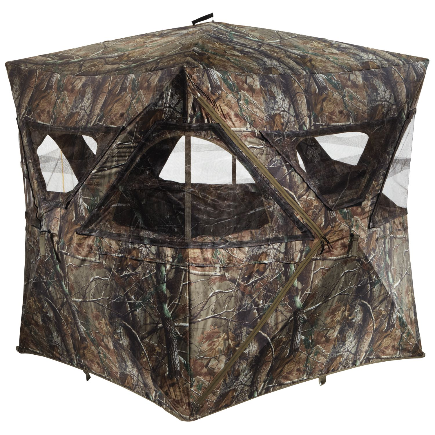 hunting duck about camo tree real itm deer hunt ground archery portable details blinds turkey tent blind