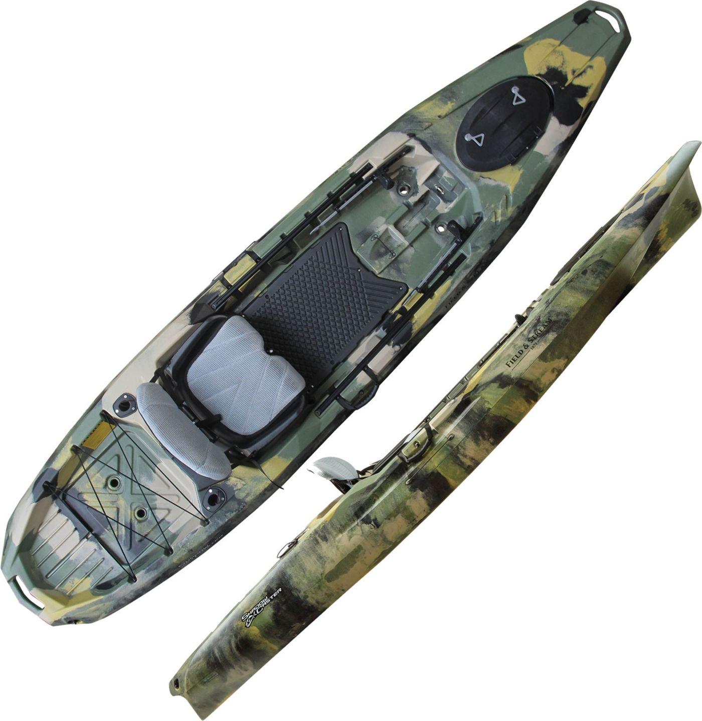 "Field & Stream Shadow Caster 12'3"" Angler Kayak"