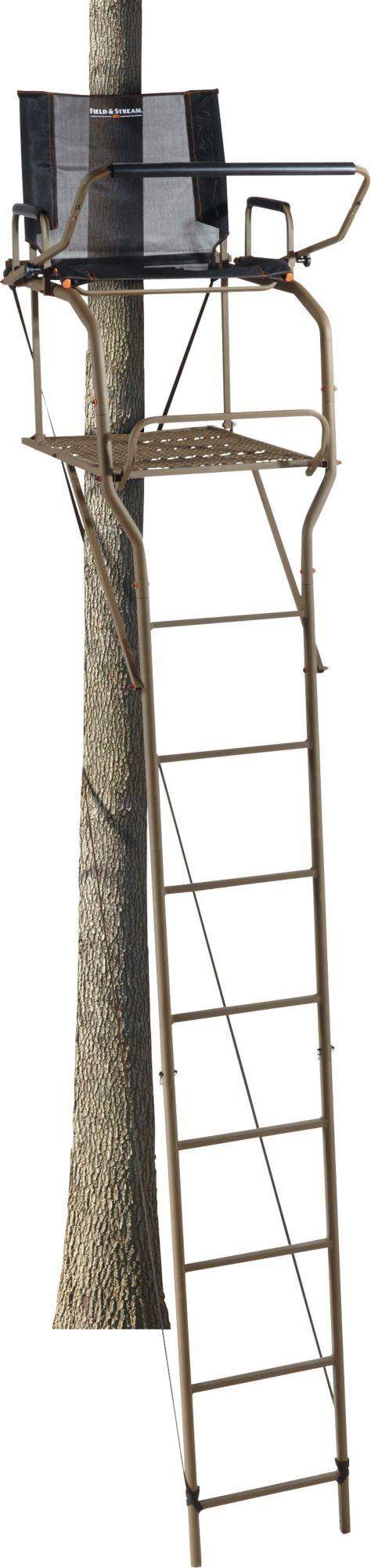 Field & Stream Outpost XL 17′ Ladder Stand, black