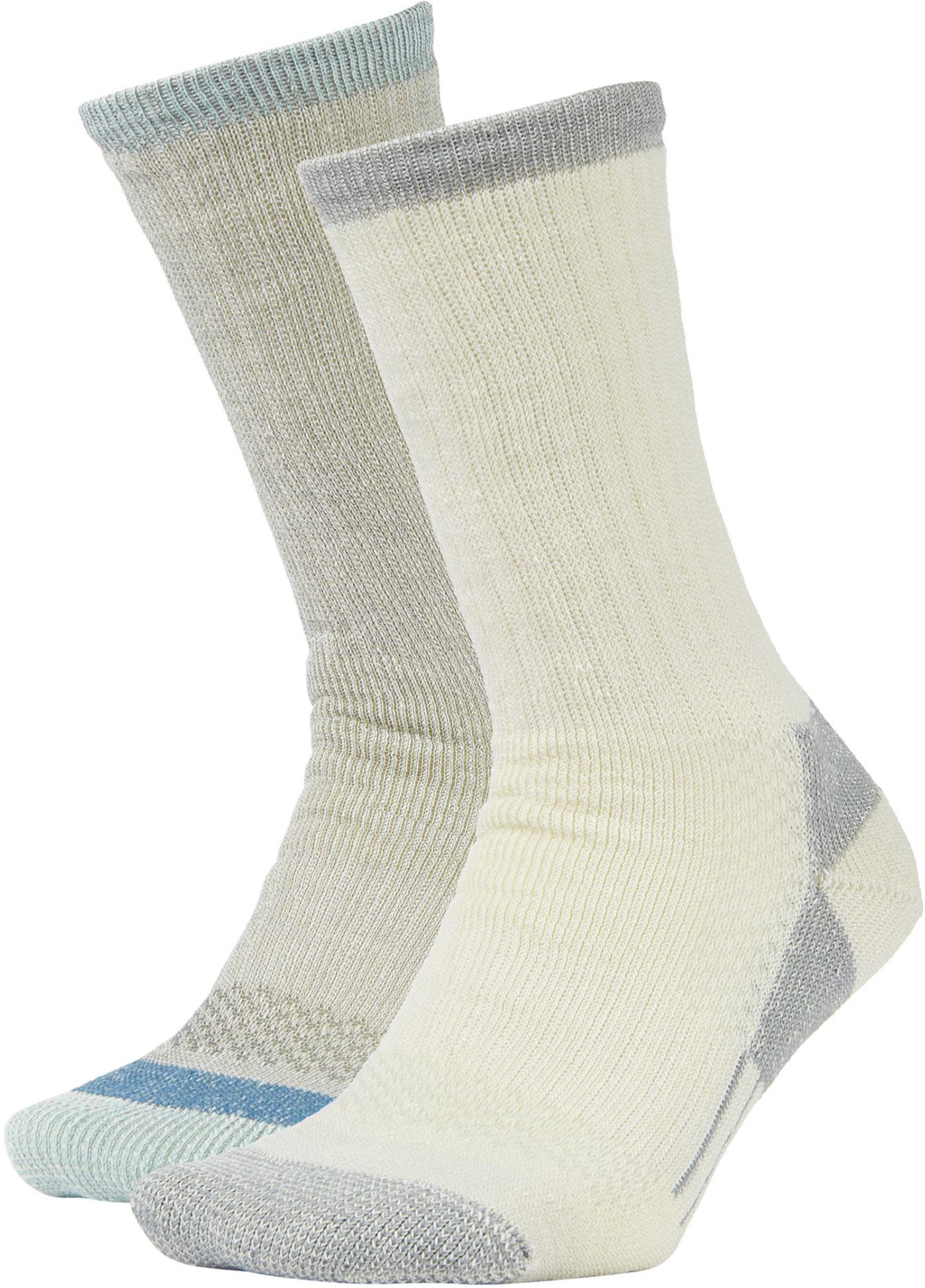 Field & Stream Women's Merino Hiking Socks - 2 Pack