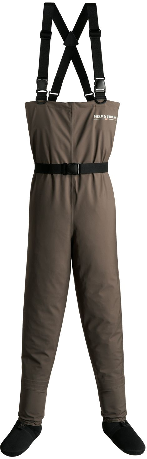 Field & Stream Youth Breathable Chest Waders, Brown thumbnail