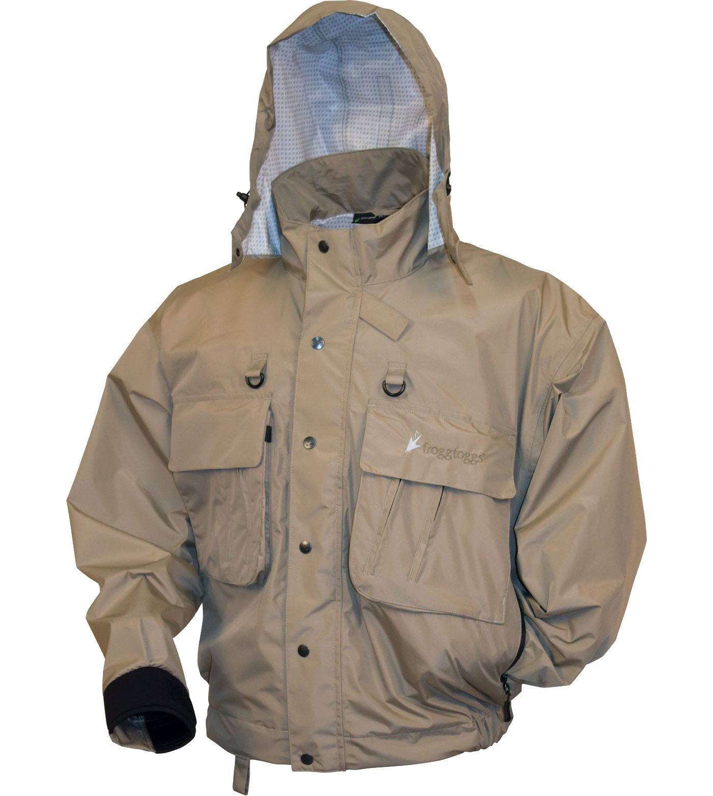 frogg toggs Men's Hellbender Fly and Wading Jacket