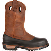 "Georgia Boot Men's Muddog Wellington 11"" Waterproof Steel Toe Work Boots"