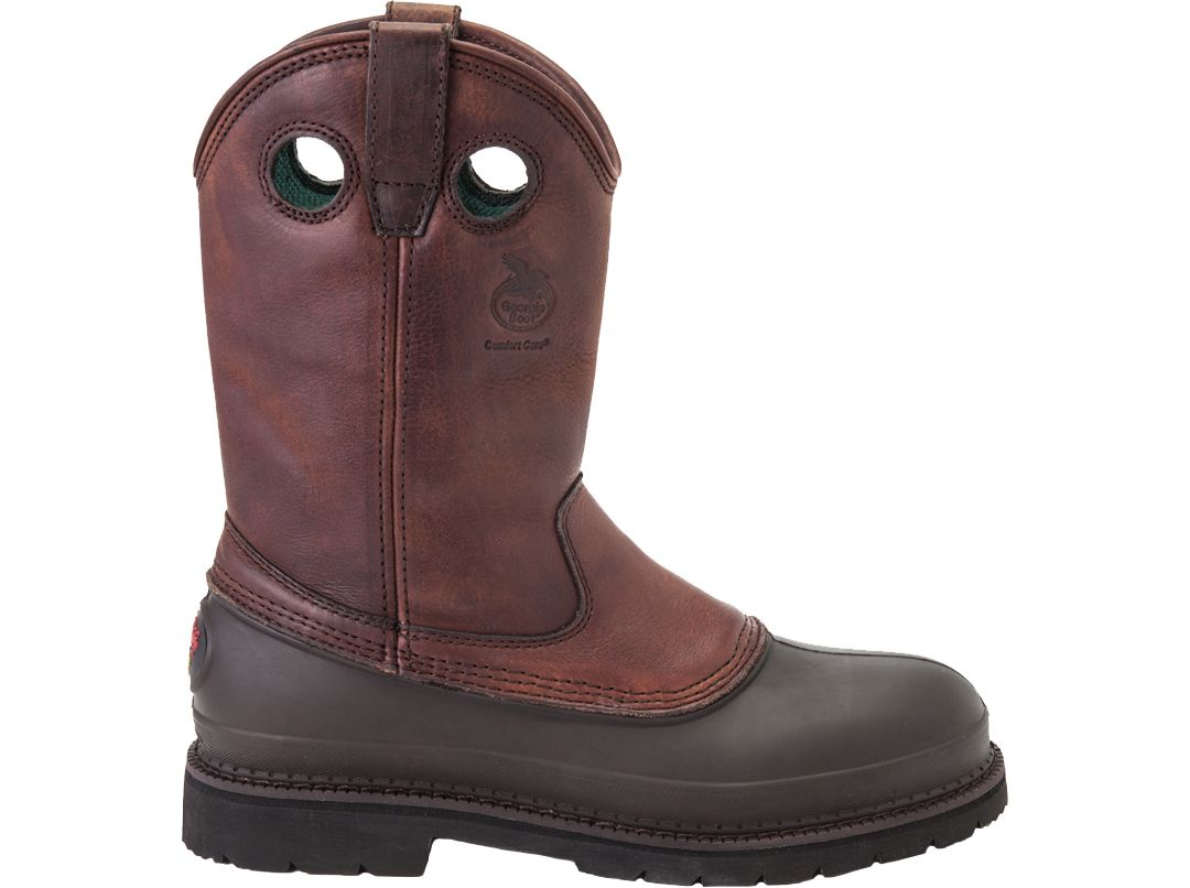 5a76c5c5be9 Georgia Boot Men's Mud Dog Steel Toe Pull On Work Boots
