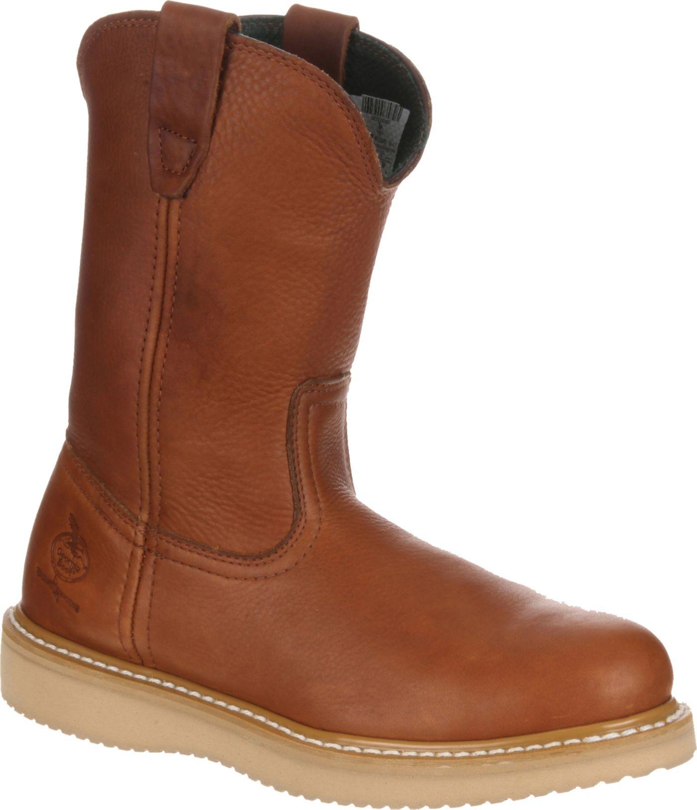 Georgia Boot Men's Farm & Ranch Wellington Work Boots