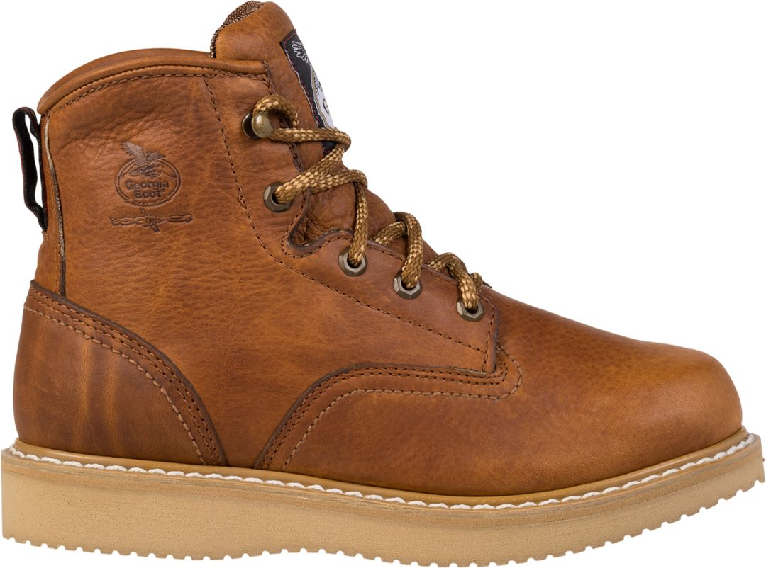 65185bff5bb Georgia Boot Men's Wedge Work Boots