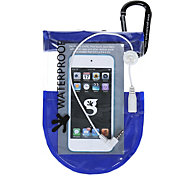 geckobrands Waterproof Media Dry Case with Headphone Jack