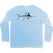 Guy Harvey Men's Clipper LS Pro UVX Performance Long Sleeve Shirt