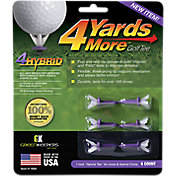 "GreenKeepers 1"" Hybrid 4 More Yards Golf Tees – 6 Pack"