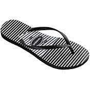 Havaianas Women's Slim Graphic Flip Flops