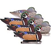 Hard Core Wood Duck Decoy - 6 Pack
