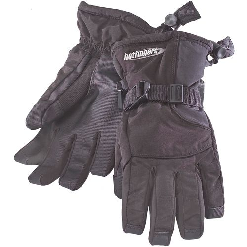 Hot Fingers Youth Rip-N-Go Glove, Kids Unisex, Size: Large, Black thumbnail