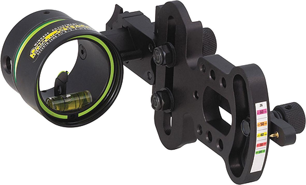 HHA Sports Optimizer Lite Series 1-Pin Bow Sight – .019 RH, Black