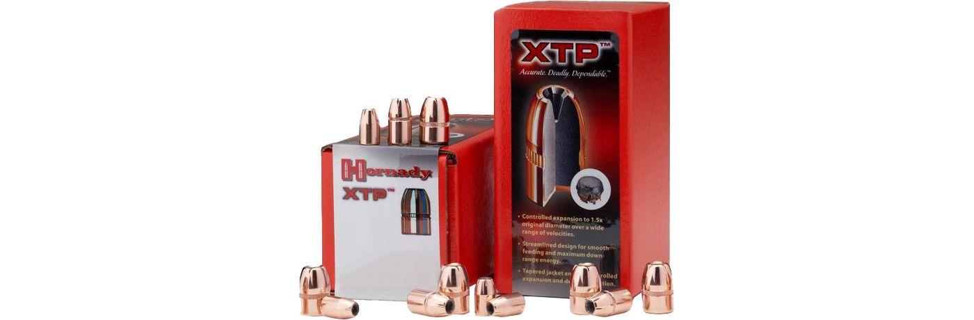 Hornady XTP JHP Reloading Bullets – .38/.357/158 Grain