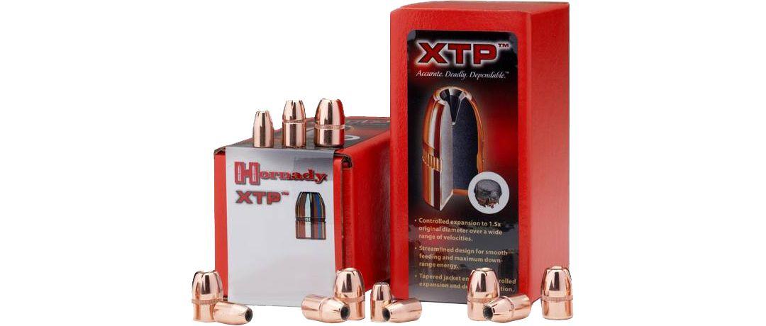 Hornady HP XTP Reloading Bullets - 9mm/124 Grain