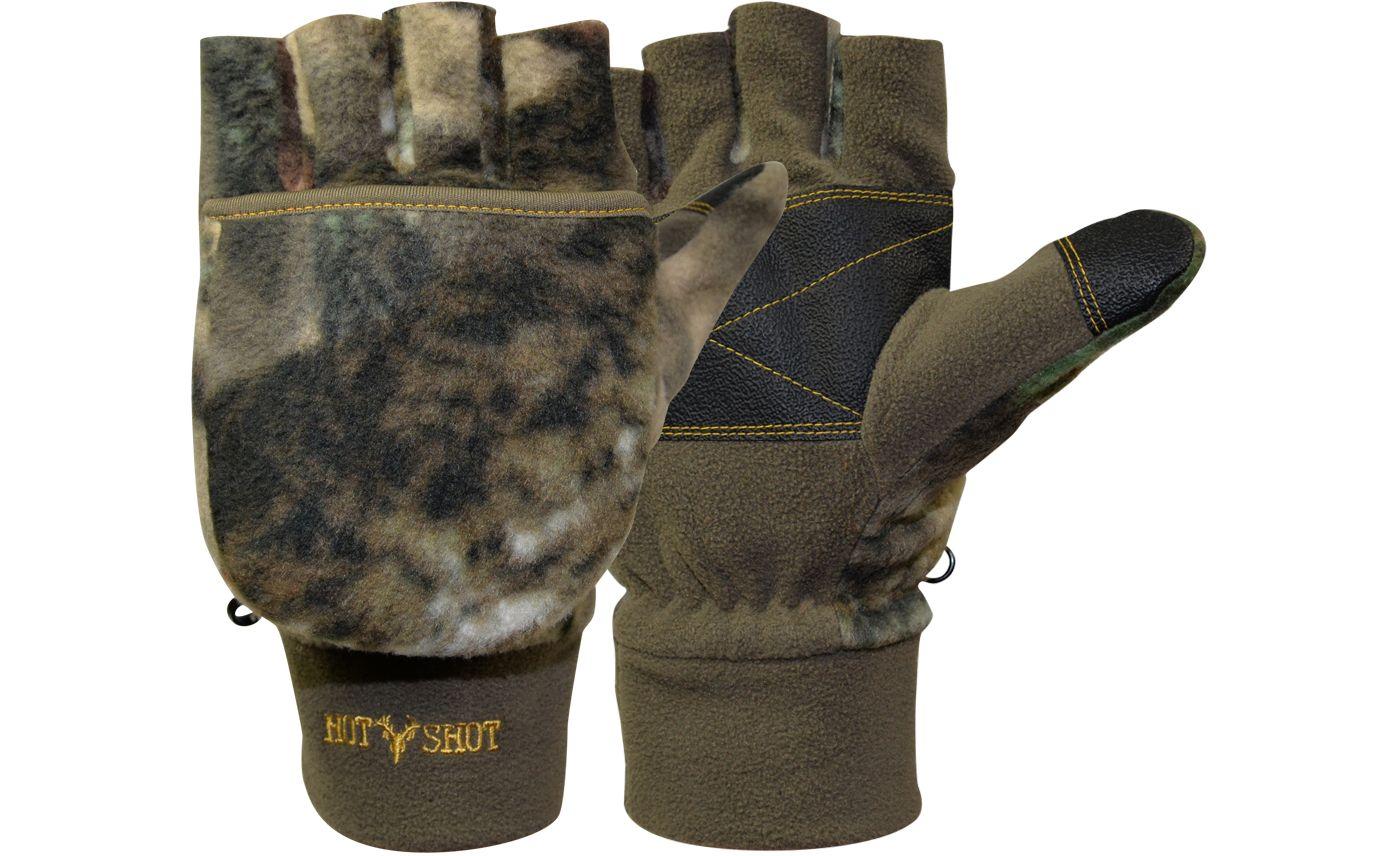 Hot Shot Men's Bulls-Eye Insulated Pop-Top Gloves