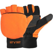 Hot Shot Men's Bulls-Eye Pop Top Gloves