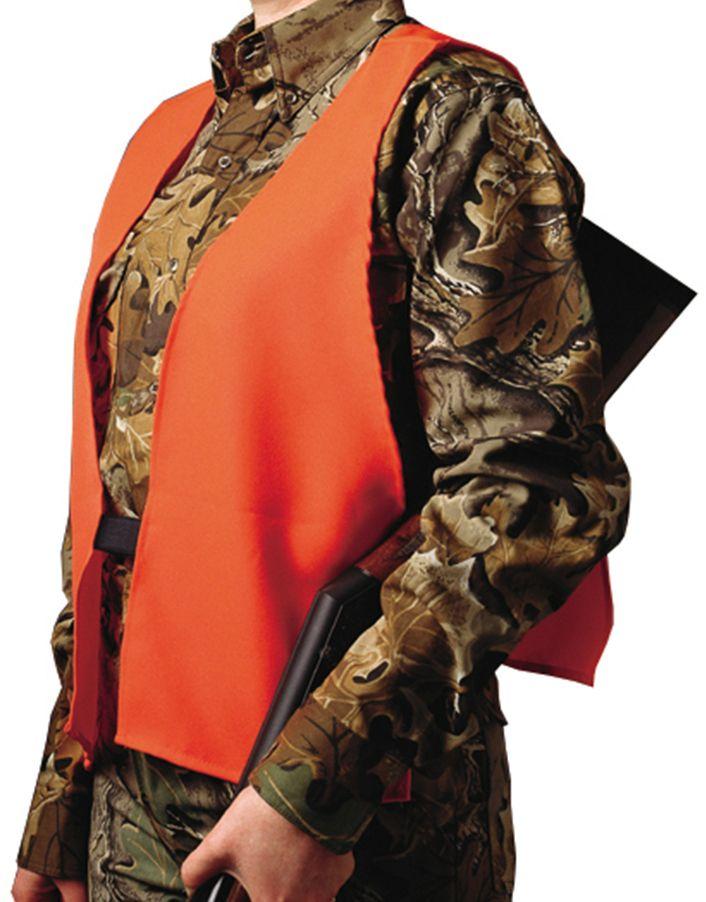 Hunters Specialties Ultra Quiet Safety Vest, Men's, Blaze Orange