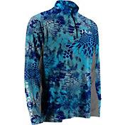 Huk Men's Kryptek ICON 1/4 Zip Long Sleeve Shirt