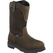 "Irish Setter Men's 11"" Pull-On Waterproof Aluminum Toe Work Boots"