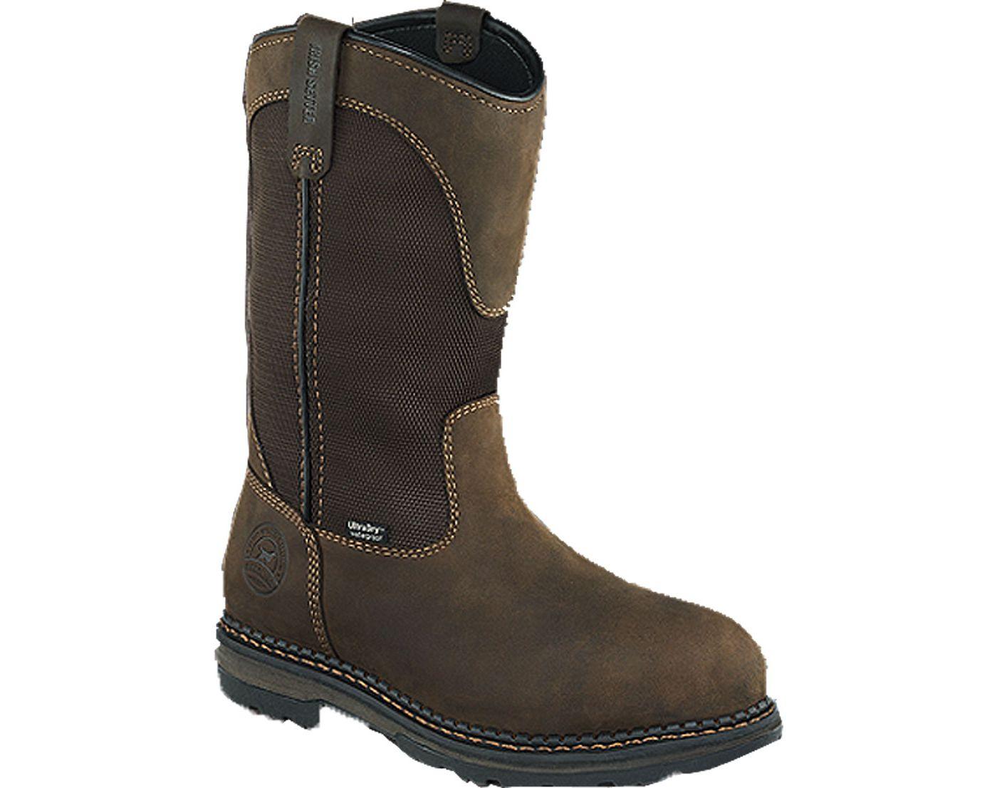 """Irish Setter Men's 11"""" Pull-On Waterproof Aluminum Toe Work Boots"""