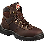 "Irish Setter Men's 6"" Direct Attach Steel Toe Work Boots"