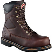 "Irish Setter Men's 8"" Steel Toe Work Boots"