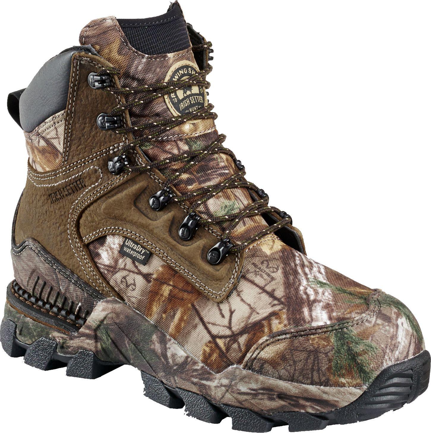 Irish Setter Men's Deer Tracker Hunting Boots, Size: 8.5, Realtree Xtra thumbnail
