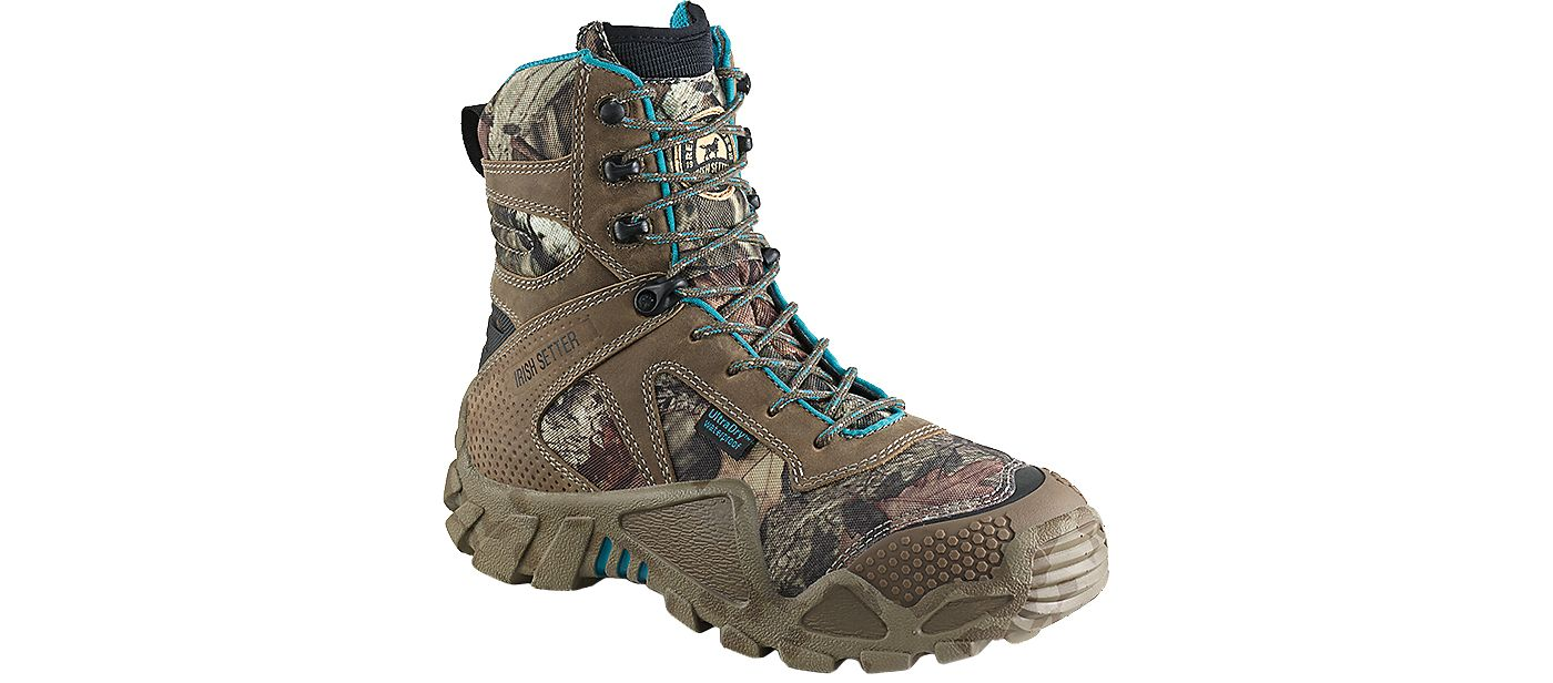 "Irish Setter Women's Vaprtrek 8"" Waterproof 400g Field Hunting Boots"