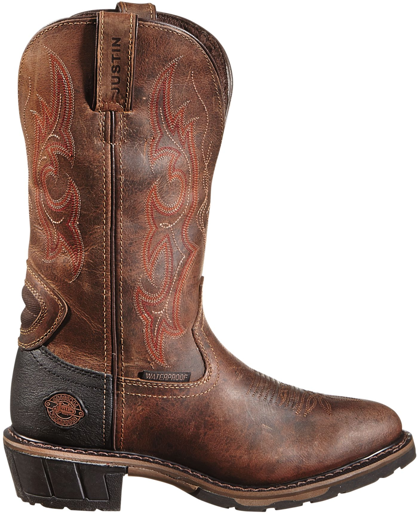 Justin Men's Rugged Utah Hybred Western Work Boots