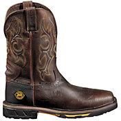 Justin Men's Rustic Barnwood Hybred Waterproof Work Boots