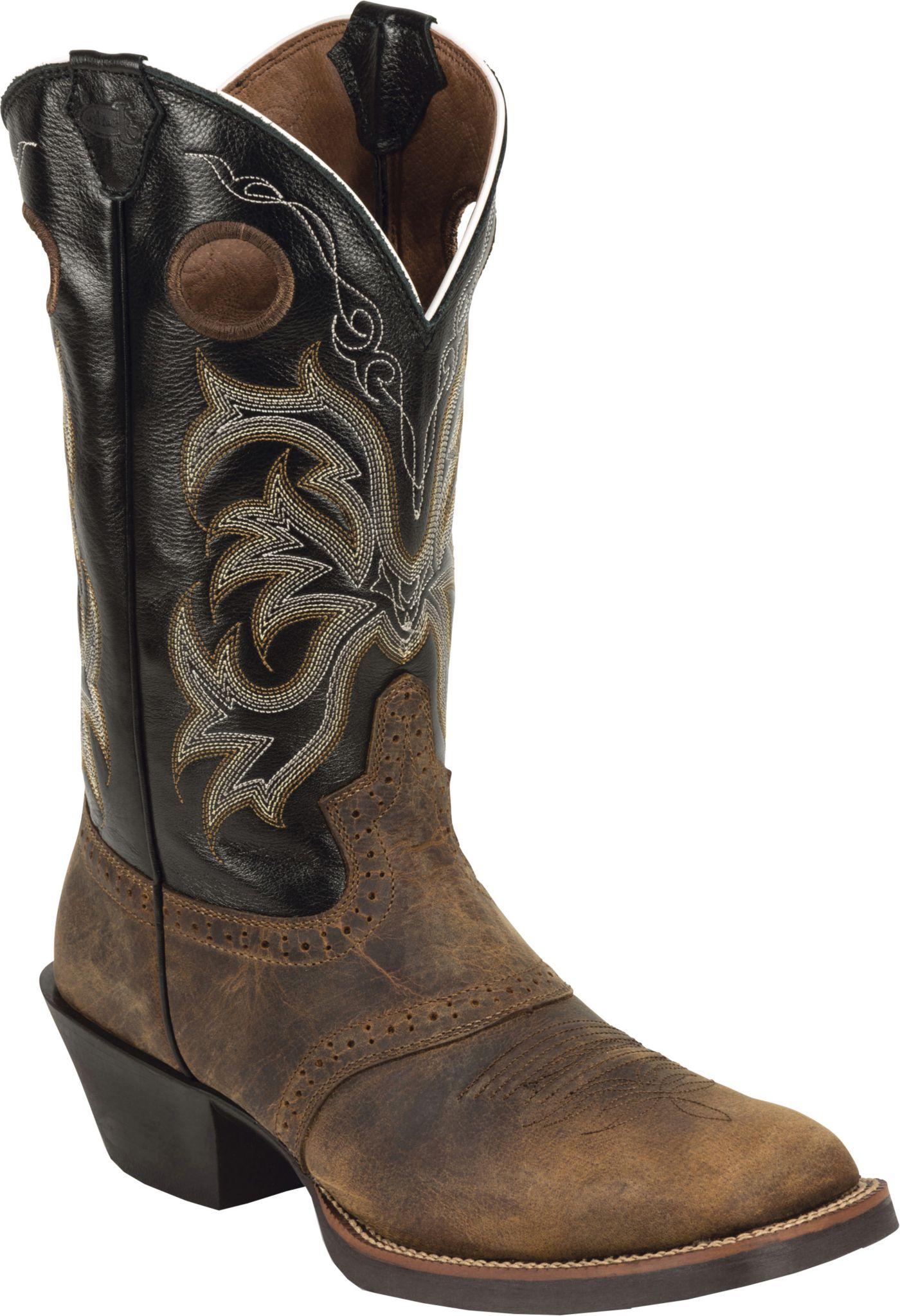 Justin Men's Rolliker Western Boots
