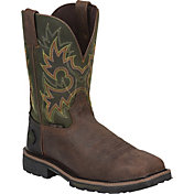Justin Men's Rustic Barnwood Composition Toe Original Work Boots