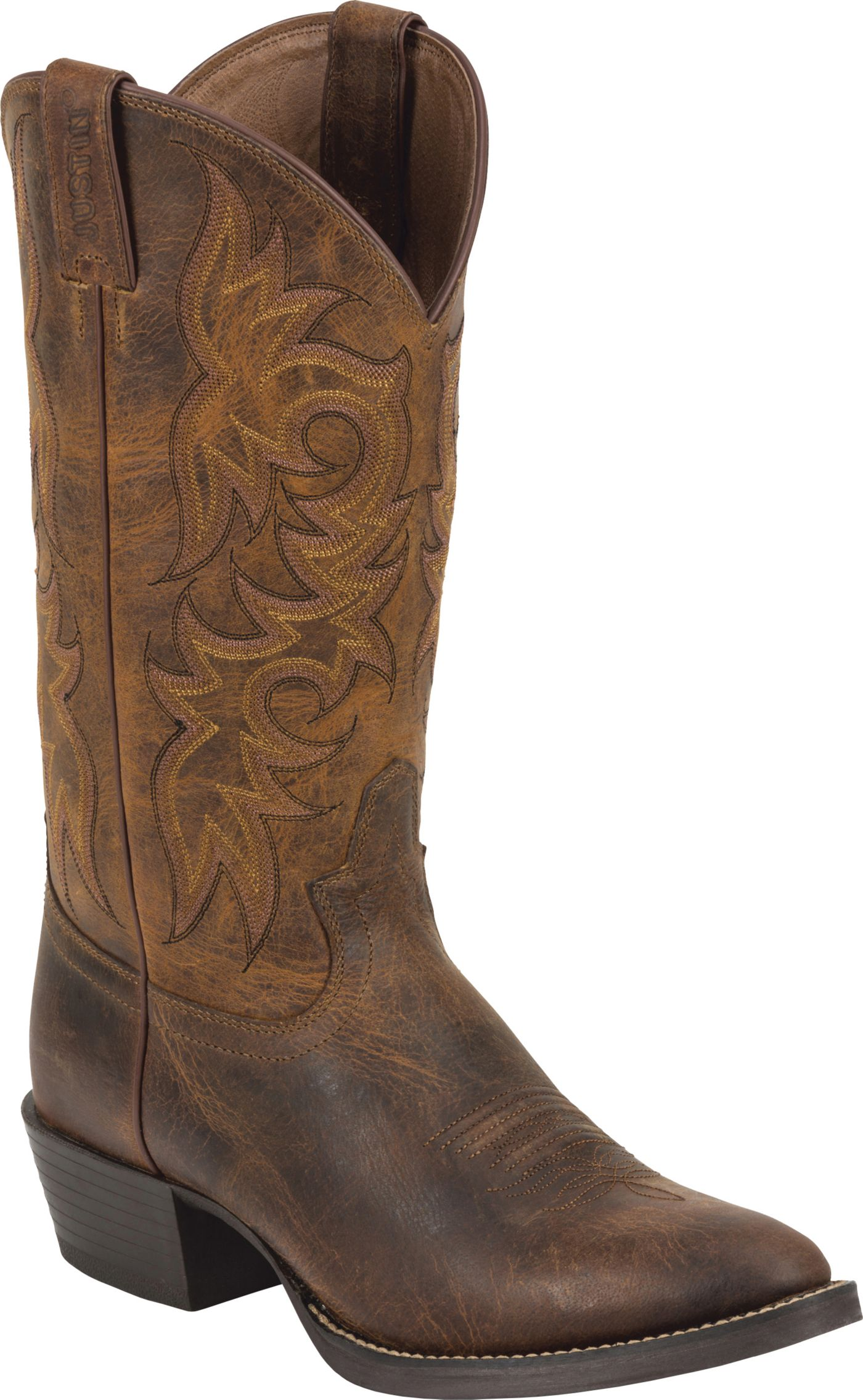 Justin Men's Rugged Cowhide Western Boots