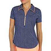 Jofit Women's Tipped Golf Polo